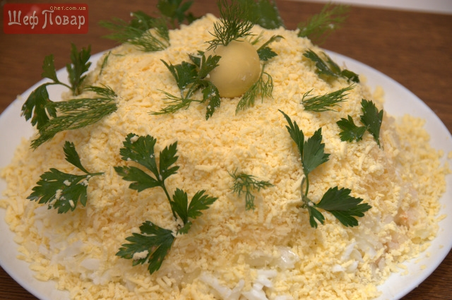 салаты рецепты видео от повара