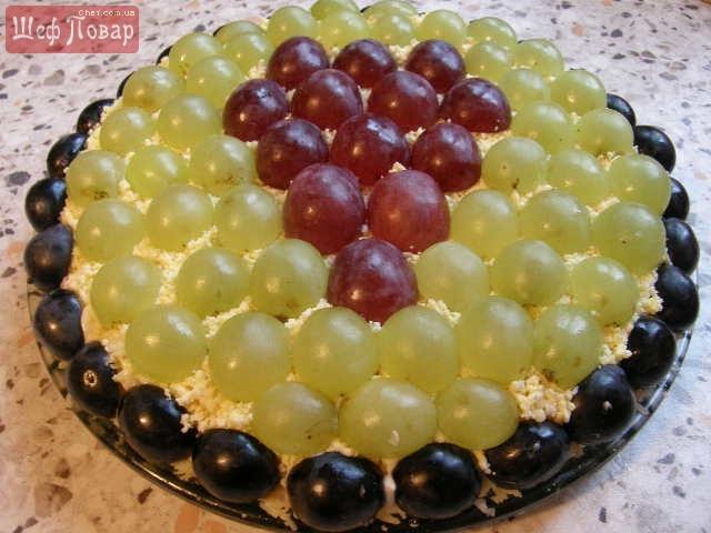 Салат виноградная лоза фото