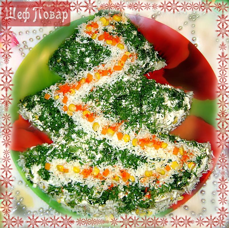 Очень легкие и вкусные праздничные салаты