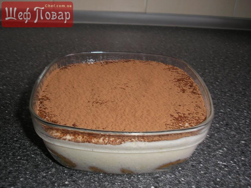классический тирамису рецепт с фото пошагово