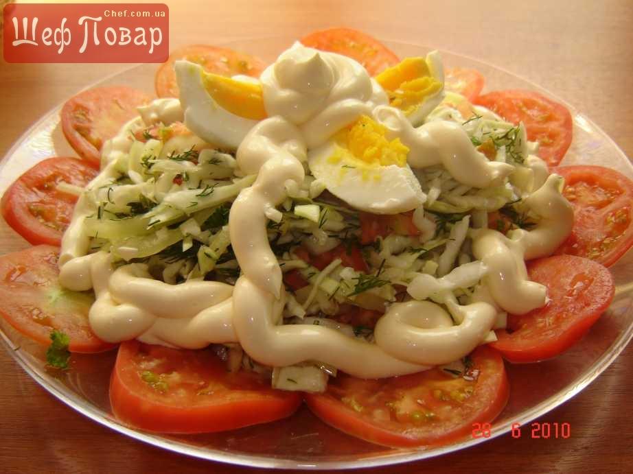 простенькие но вкусные рецепты салатов