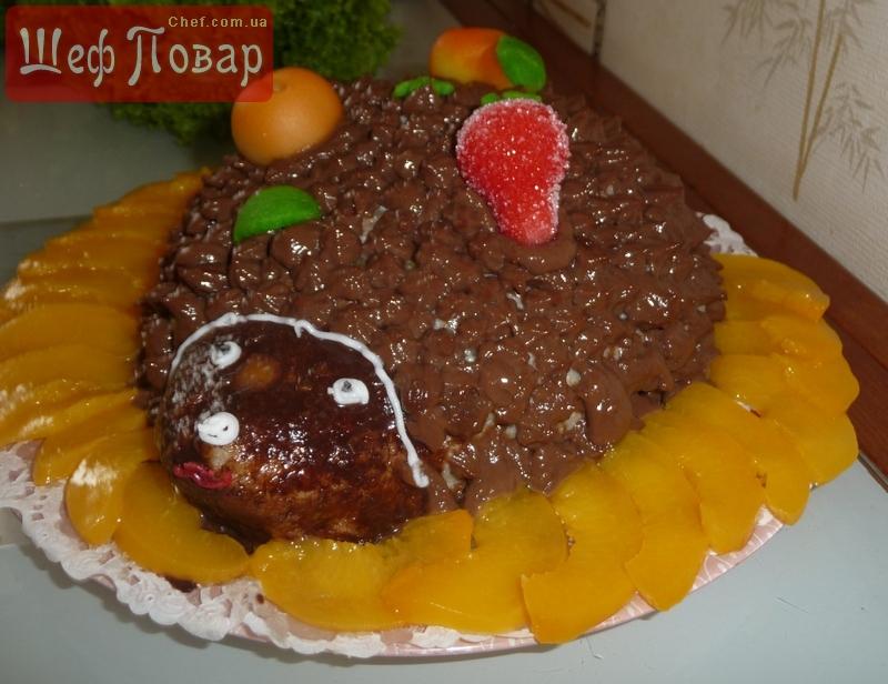 Торт ёж сладкая выпечка рецепты