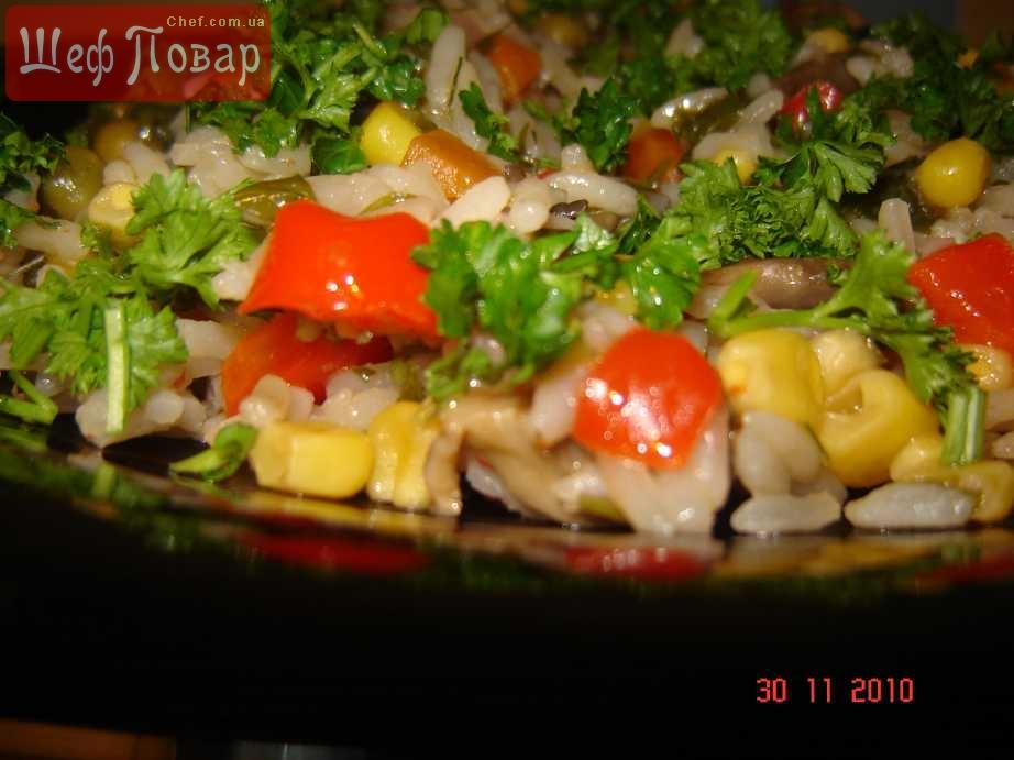 Салат из жареной картошки рецепт
