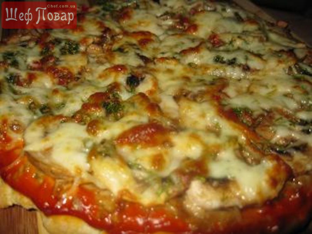 Рецепт пиццы европейская жар пицца