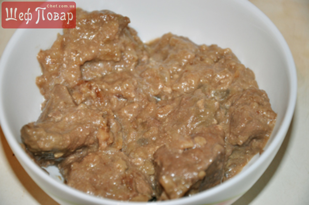 Рецепт приготовления говяжьей печени в молоке