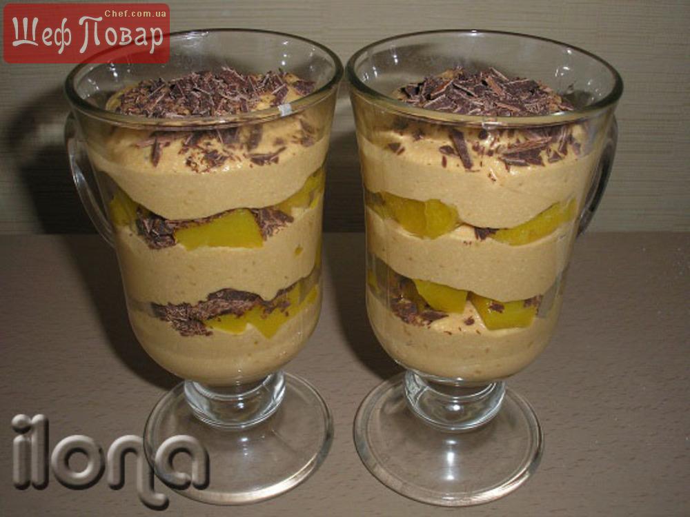 Десерт в стакане слоями рецепт
