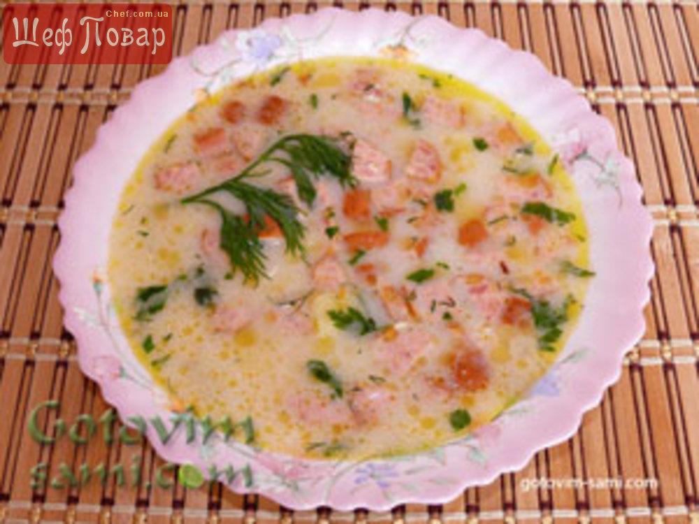 супы из плавленных сырков рецепты с фото простые и вкусные