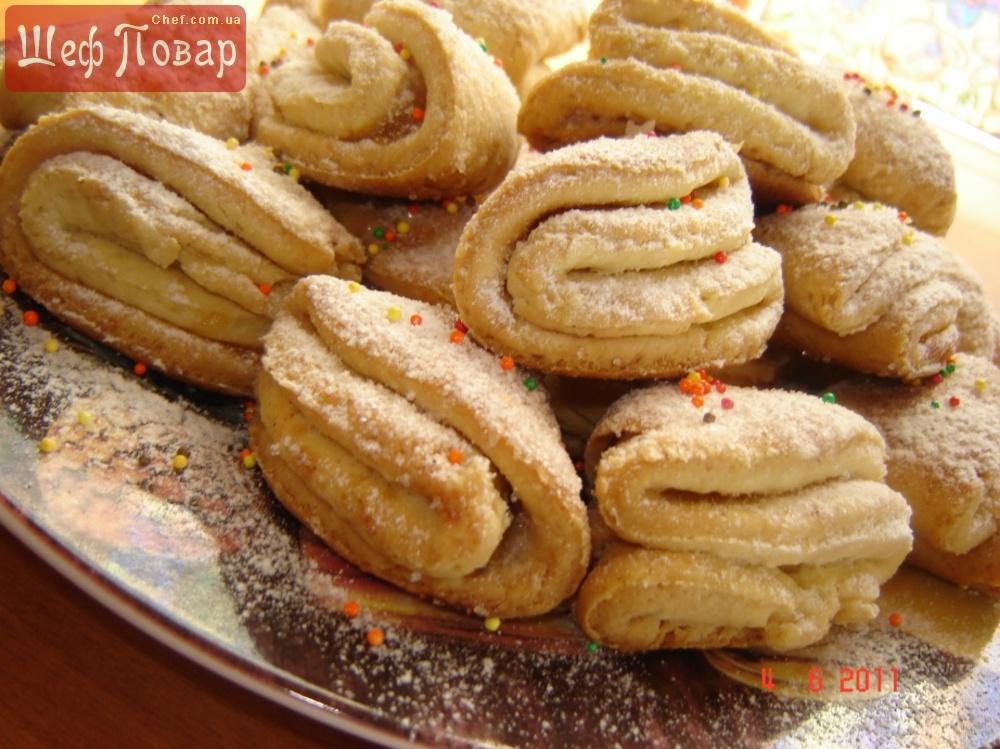 Песочное печенье простой рецепт на маргарине