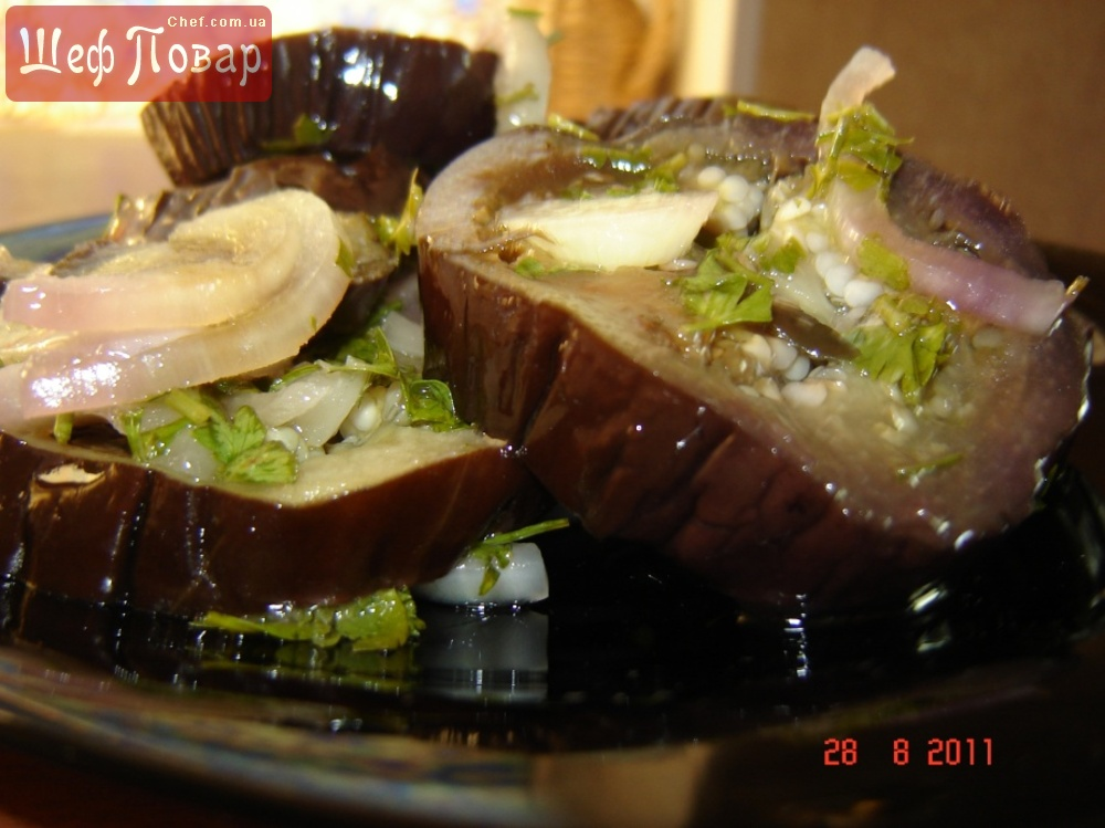 Рецепты закусок из баклажан фото