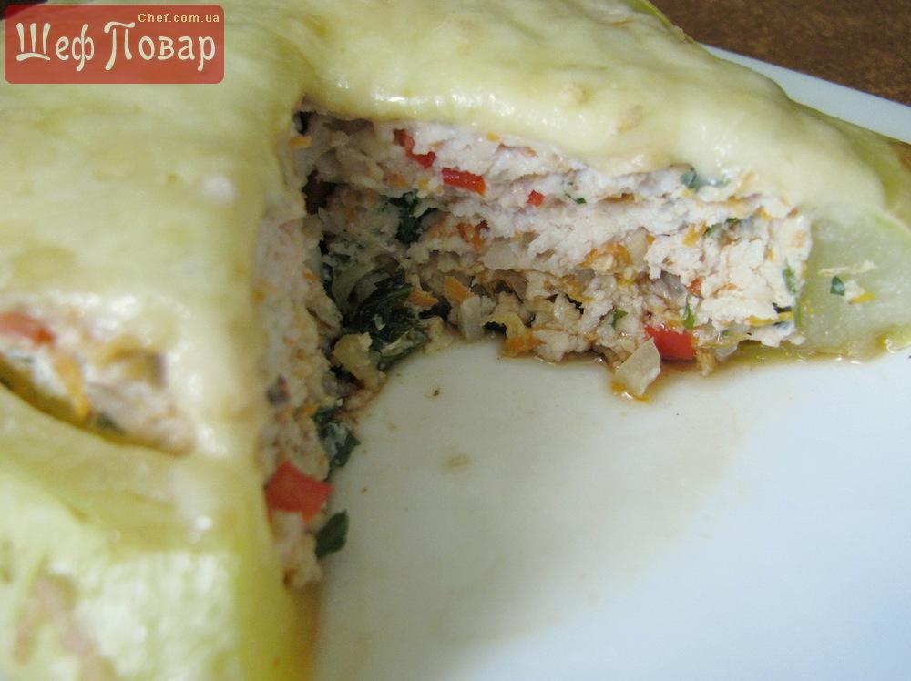 Патиссоны фаршированные в духовке пошаговый рецепт с фото