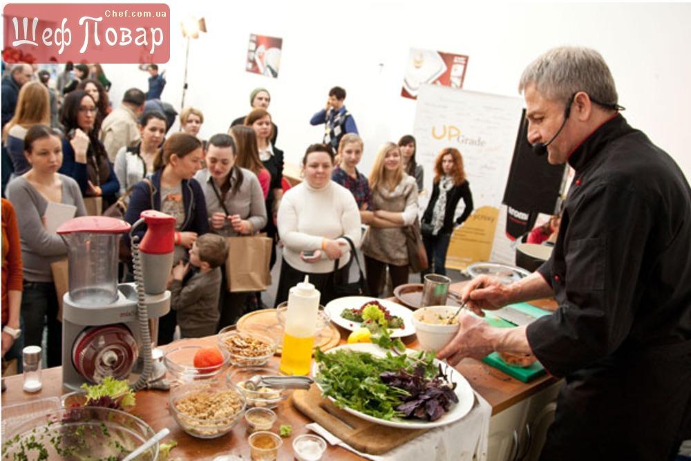 Кулинарный мастер-класс здоровое питание
