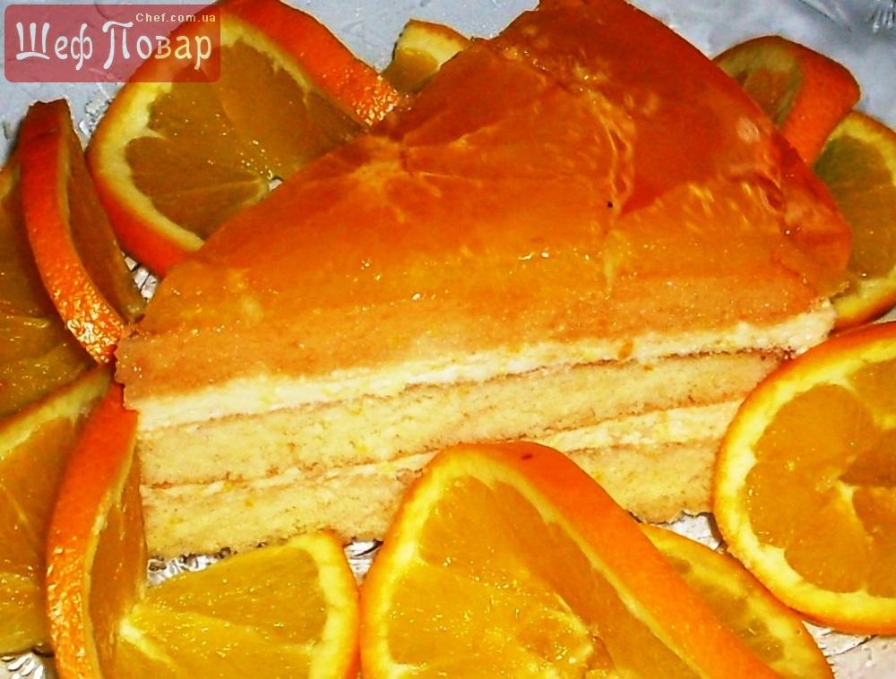 рафинированным апельсиновый бисквитный торт рецепт с фото иванович очень волновался