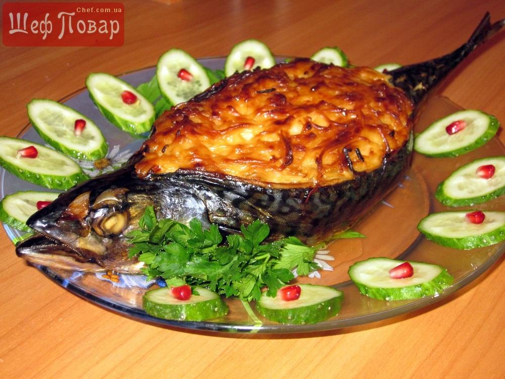 Рыбные блюда в духовке