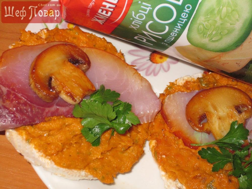 Бутерброды с копченой рыбой рецепты