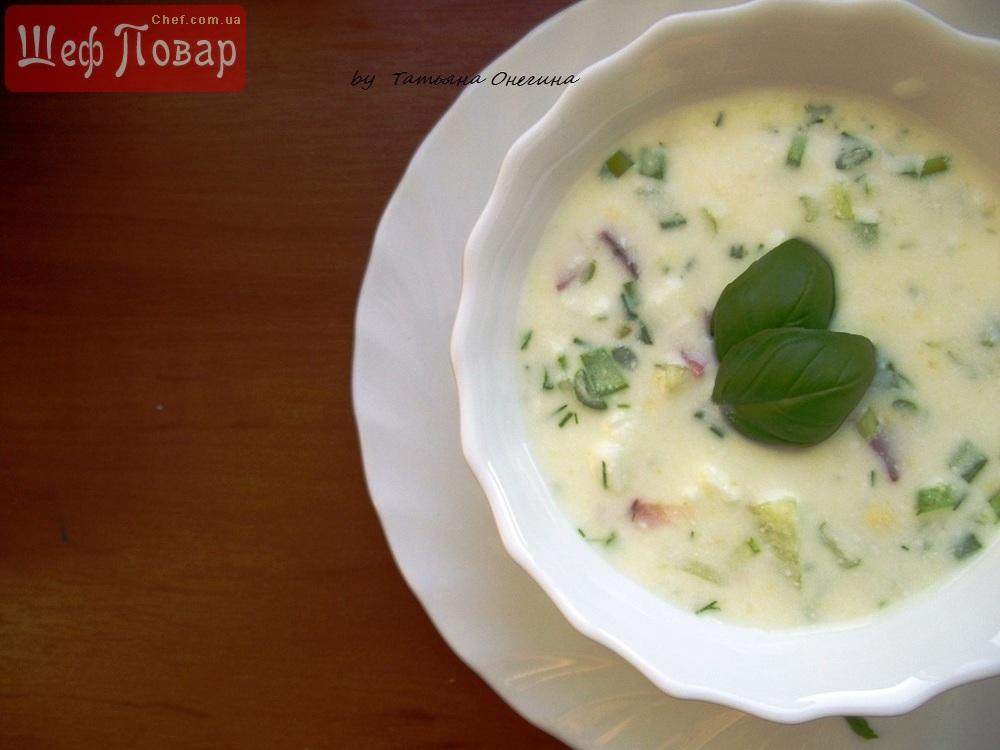 видео готовка холодного супа