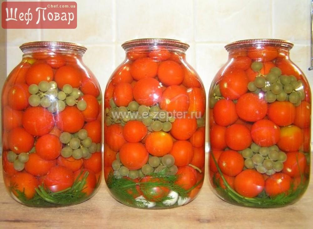 консервированные помидоры на зиму рецепт фото