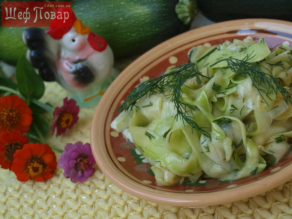 Рецепты из свежих кабачков