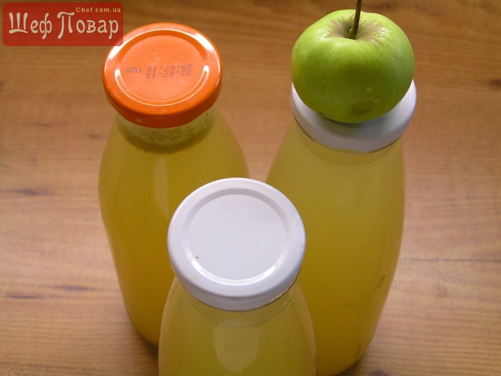 Как в домашних условиях сделать яблочный сок