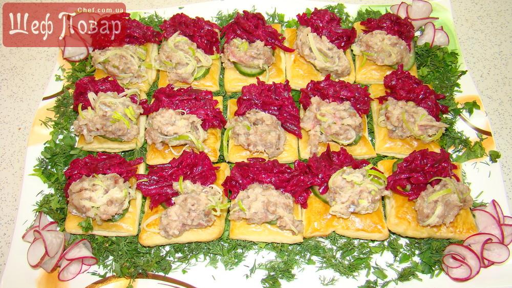Простые и вкусные бутерброды к праздничному столу рецепты 70