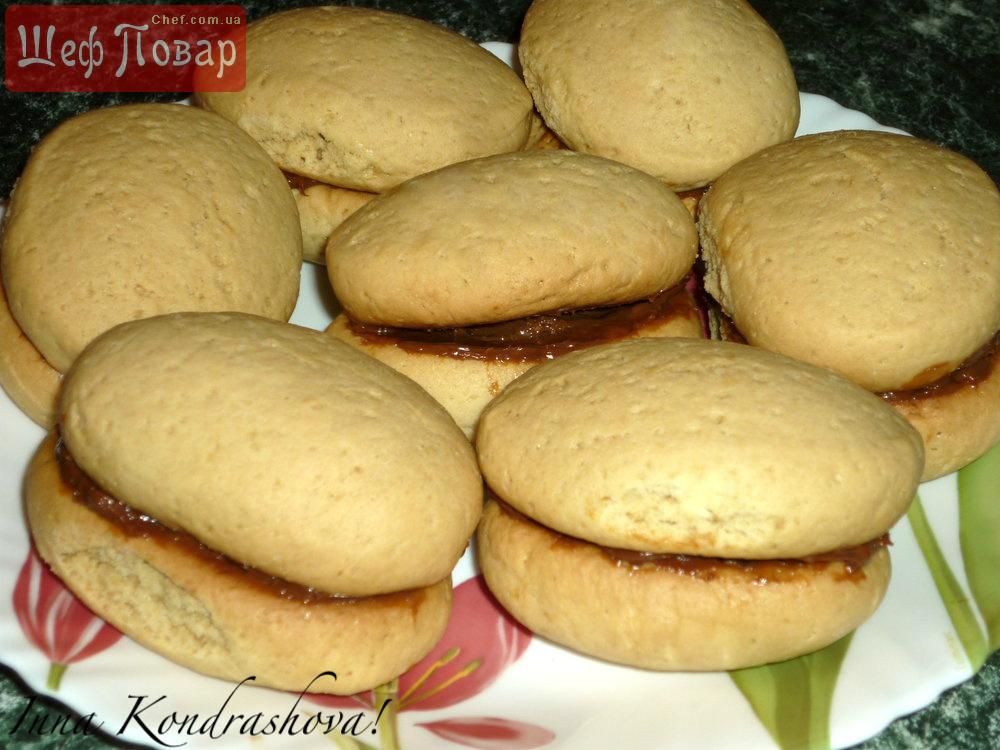 Печенье со сгущенкой, рецепт