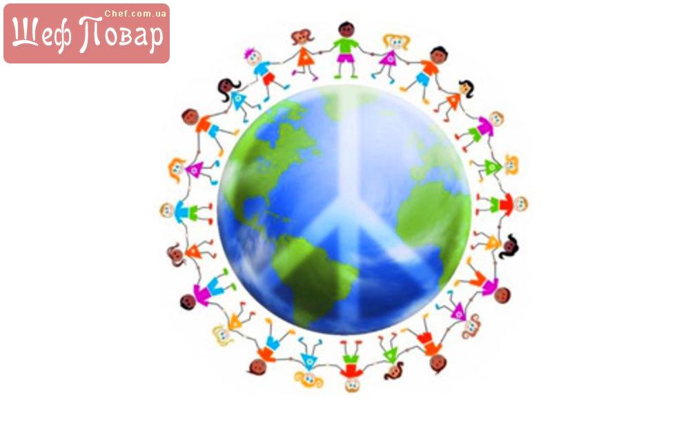 фото со знаком мир