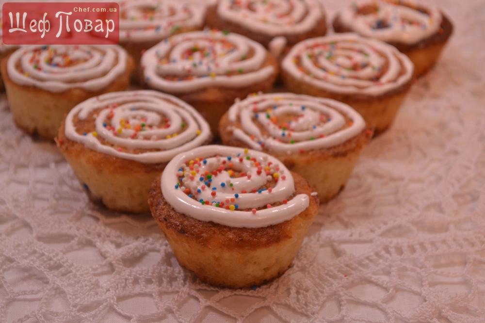 Кексы рецепты фото видео