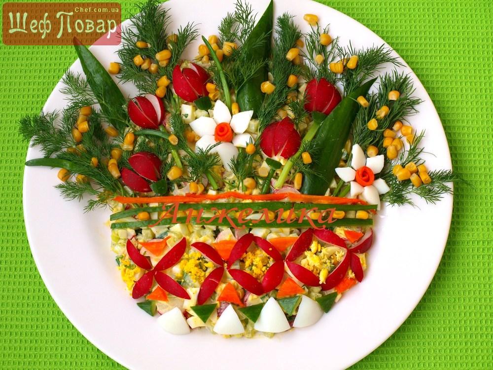 Салаты весенние праздничные рецепты с