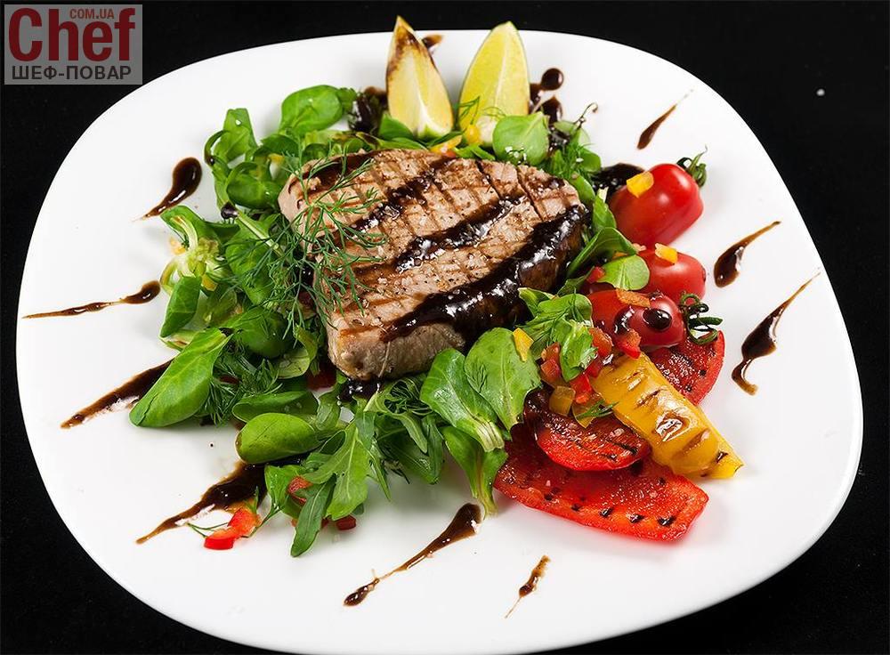 Стейк из тунца / Рыбные блюда / Рецепты / Шеф-повар – простые и ...