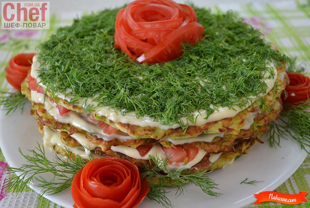 Блюда из кабачков - рецепты с фото