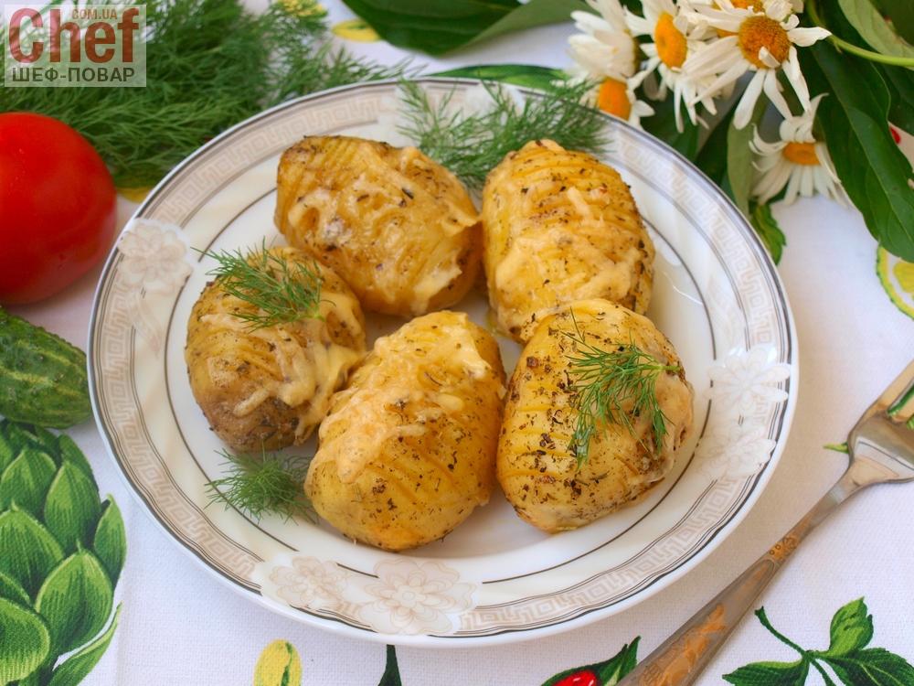 рецепт картошки с травами в духовке рецепт