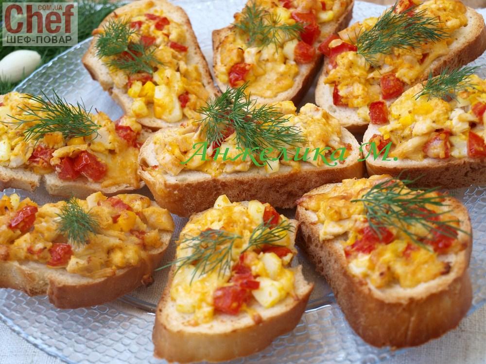 Рецепты горячих бутербродов с помидором пошагово фото
