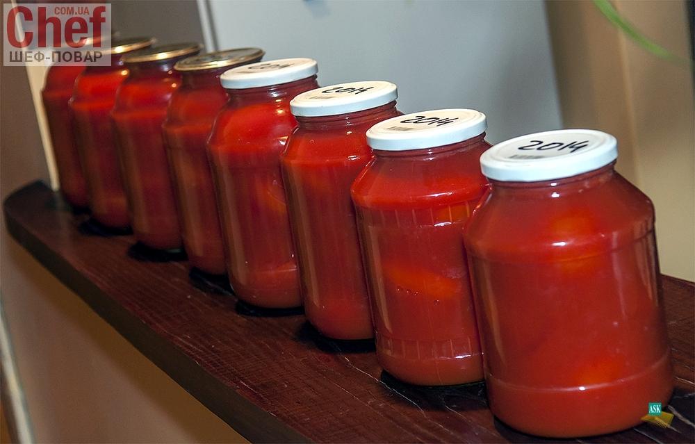 как приготовить томаты в собственном соку сок готовый