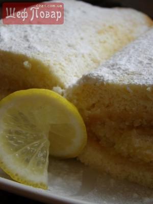 рулет лимонный видео рецепт