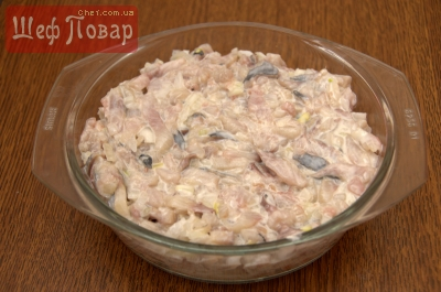 Слоеный салат «Семга на шубе», рецепт — Вкусо.ру