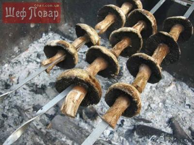Сколько минут жарить грибы шиитаке