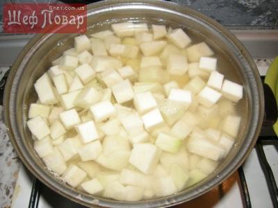 Рецепт тушеной картошки с куриным филе фото