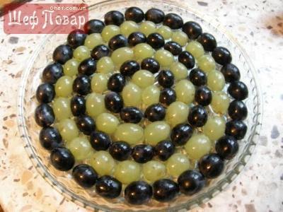Рецепт салата виноградная лоза с