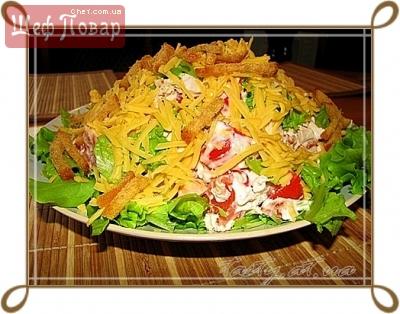 кулинарные рецепты салатов на ютубе