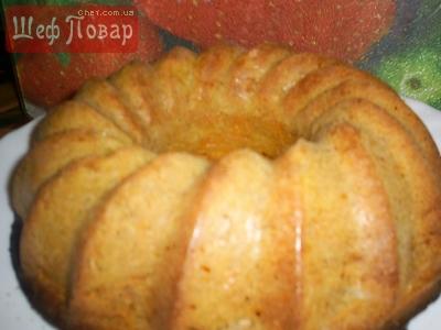 Тыквено-овсяный кекс