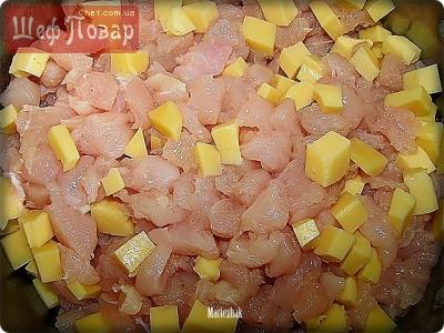 куриные котлеты со свининой рецепт с фото пошагово в