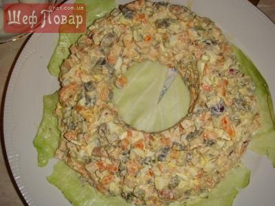 Салат ласточка рецепт с 121