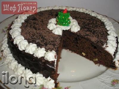 Шоколадный-шоколадный торт