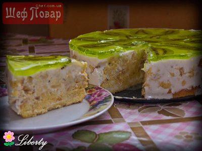 Торты желе на сметане рецепт с фото