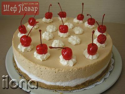 Застывший торт вынуть из формы