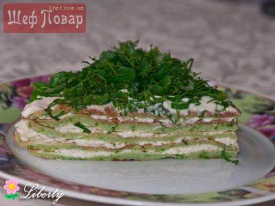 Кабачковый торт вкусные рецепты