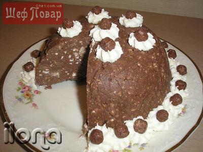 Творожно-вафельный торт