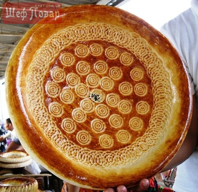 Узбекский хлеб рецепт