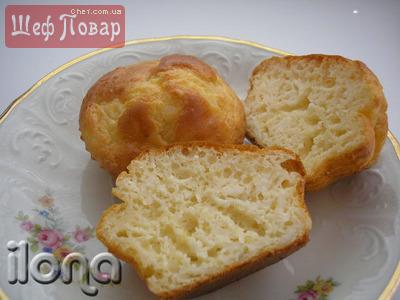 Закусочные кексы с плавленным сырком