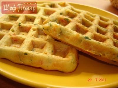 солёные вафли рецепт с фото