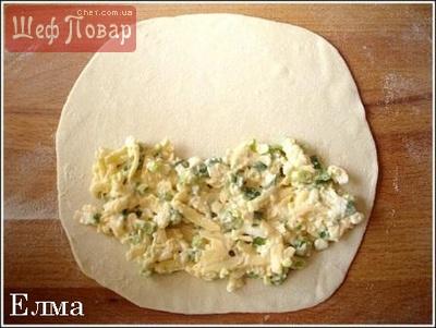 рецепт. чебуреков с сыром и брынзой